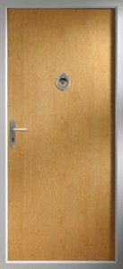 Thornberry – A light oak door
